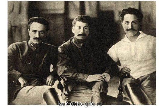Ordzhonikidze Stalin and Mikoyan 1925 g