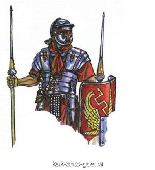 galstuk Roman legions