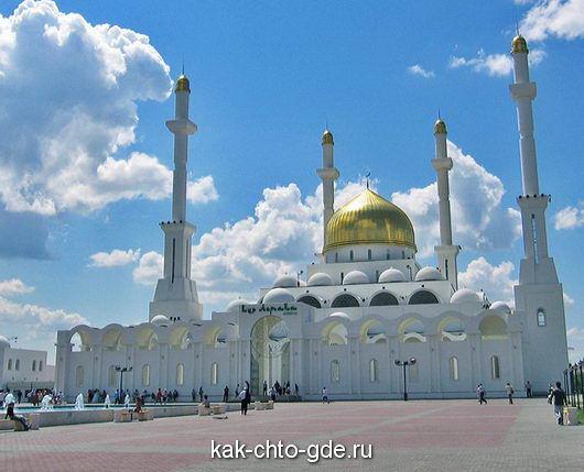 mecheti v Astana