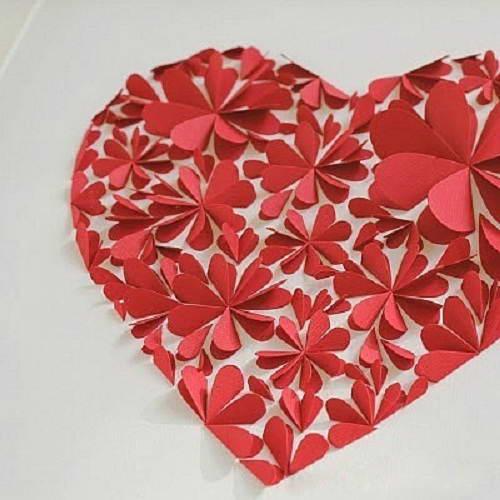 Большое сердце ко Дню Всех Влюбленных