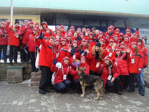 Волонтеры в Сочи, Красная Поляна, Лаура