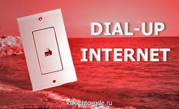 коммутируемого доступа в Интернет