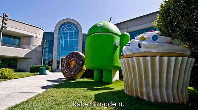 штаб квартира google