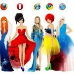 Самые популярные браузеры на сегодня: Mozilla, Opera, Internet Ezplorer. Goggle Chrome, Safari