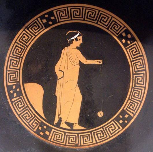 Йо-йо (yo-yo). Греция