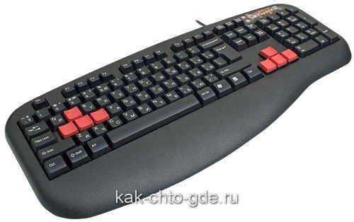 игровая клавиатура A4Tech X7-G600