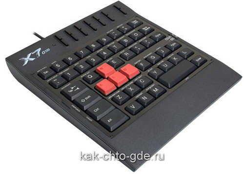 ИГРОВАЯ КЛАВИАТУРА A4 X7-Г100