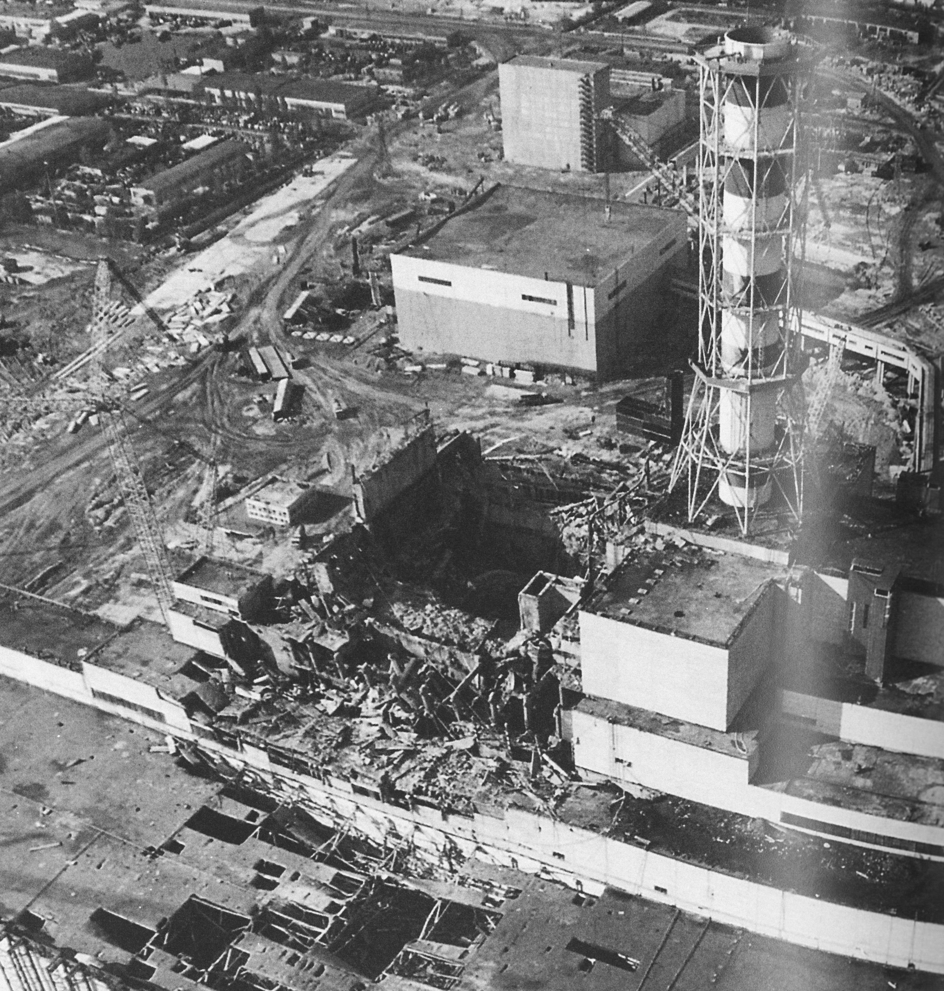 chernobyl nuclear power plant disaster