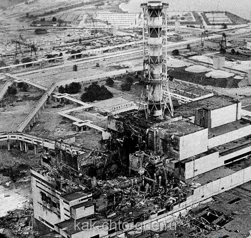 Чернобыль авария, фото