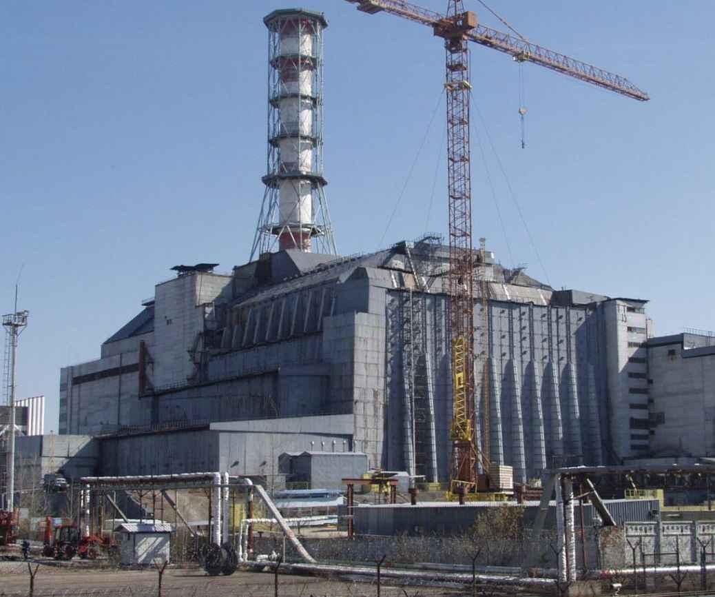 Чернобыльский саркофаг