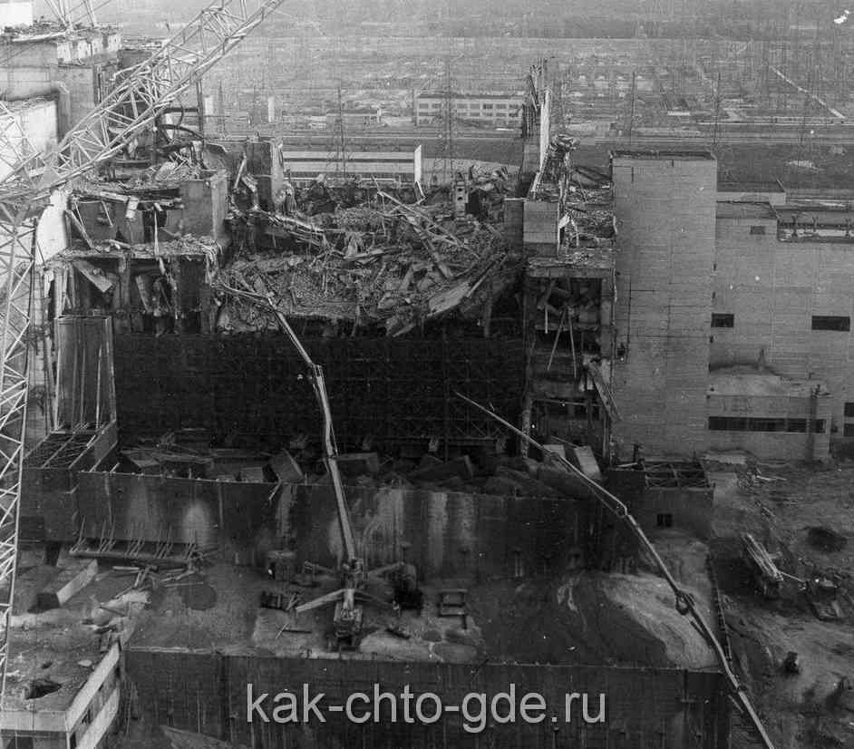 разрушенный-чернобыльский-реактор