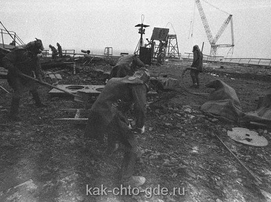 Чернобыль ликвидаторы аварии
