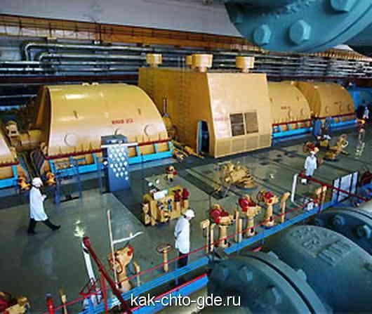 энергоблок Ленинградской АЭС