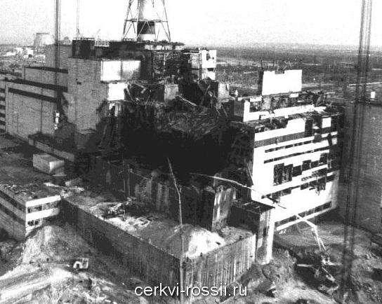 Чернобыльская катастрофа разрушенный чернобыльский реактор