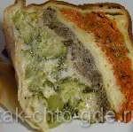 готовим блинный пирог