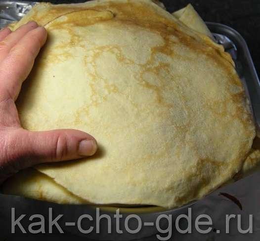начинка для блинного пирога