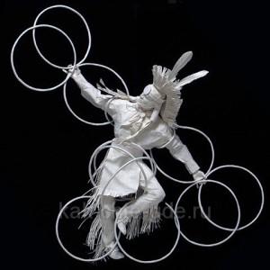 делаем объемные модели из бумаги
