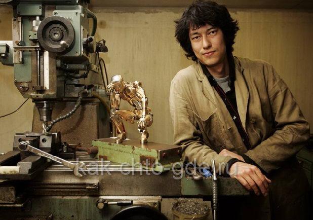 Марк Хо автор металлического человека