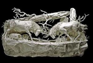 фото бумажные модели животных