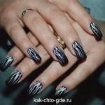 маникюр на ногтях фото