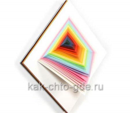 Бумажный арт объемные поделки из цветной бумаги