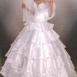Пышные свадебные платья фото