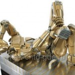 Металлический человек сделанный своими руками
