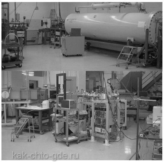 оборудование лаборатории радиоуглеродного анализа