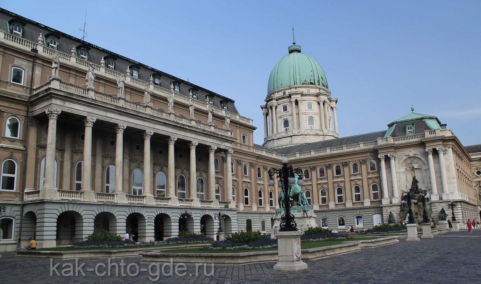 Здание Будапешта