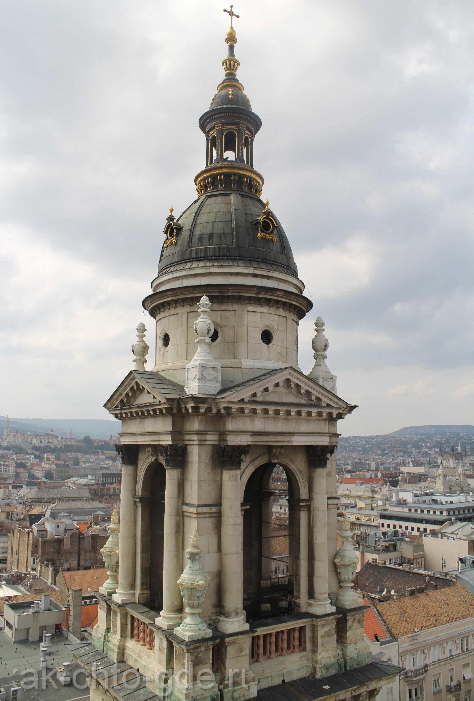 Смотровая площадка в Будапеште.