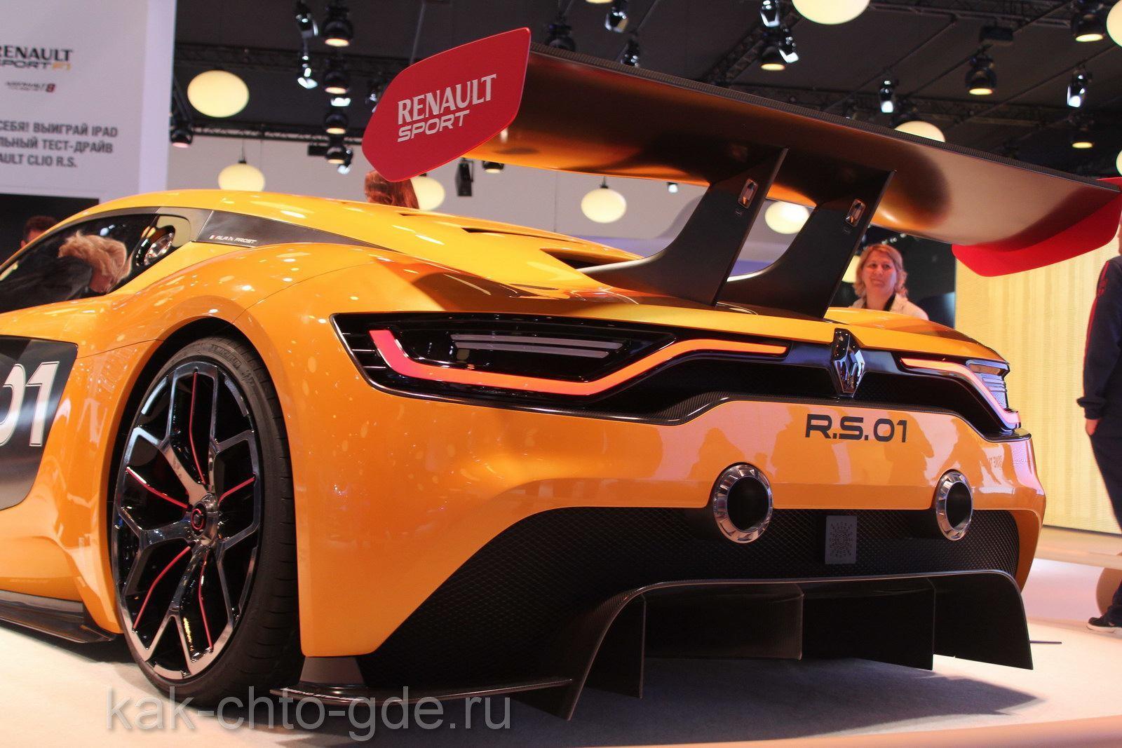Новое спорт-купе Renault Sport R.S. 01
