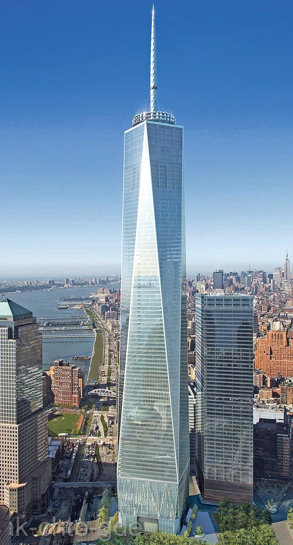 самые высокие Всемирный торговый  центр  Башня Всемирного торгового центра Freedom Тове практически достроенная на Манхэттене, окажется выше по шпилю