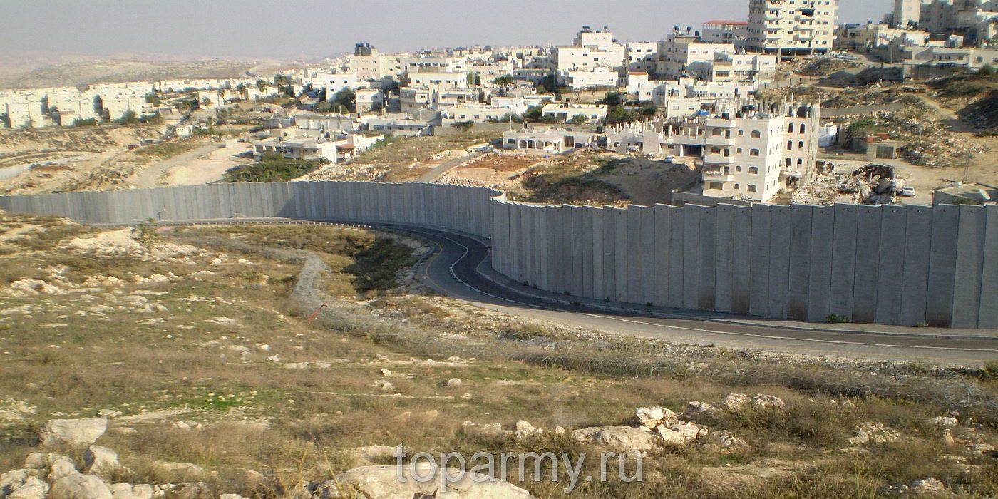 стена израиль палестина