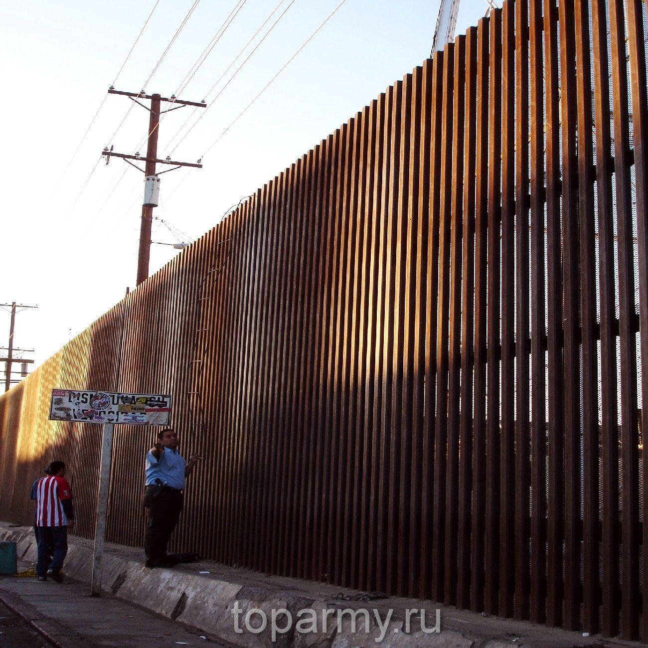 Граница Мексики и США