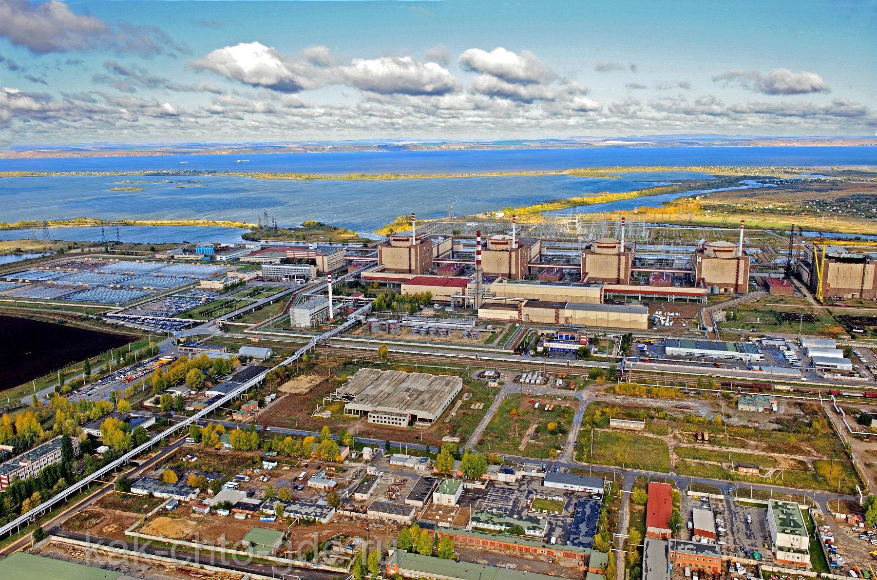 Балаковская АЭС фото