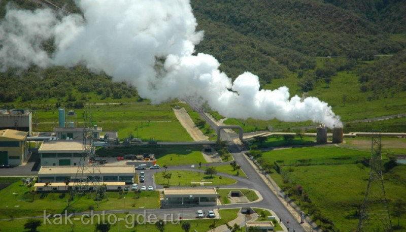 самая мощная геотермальная электростанция мира