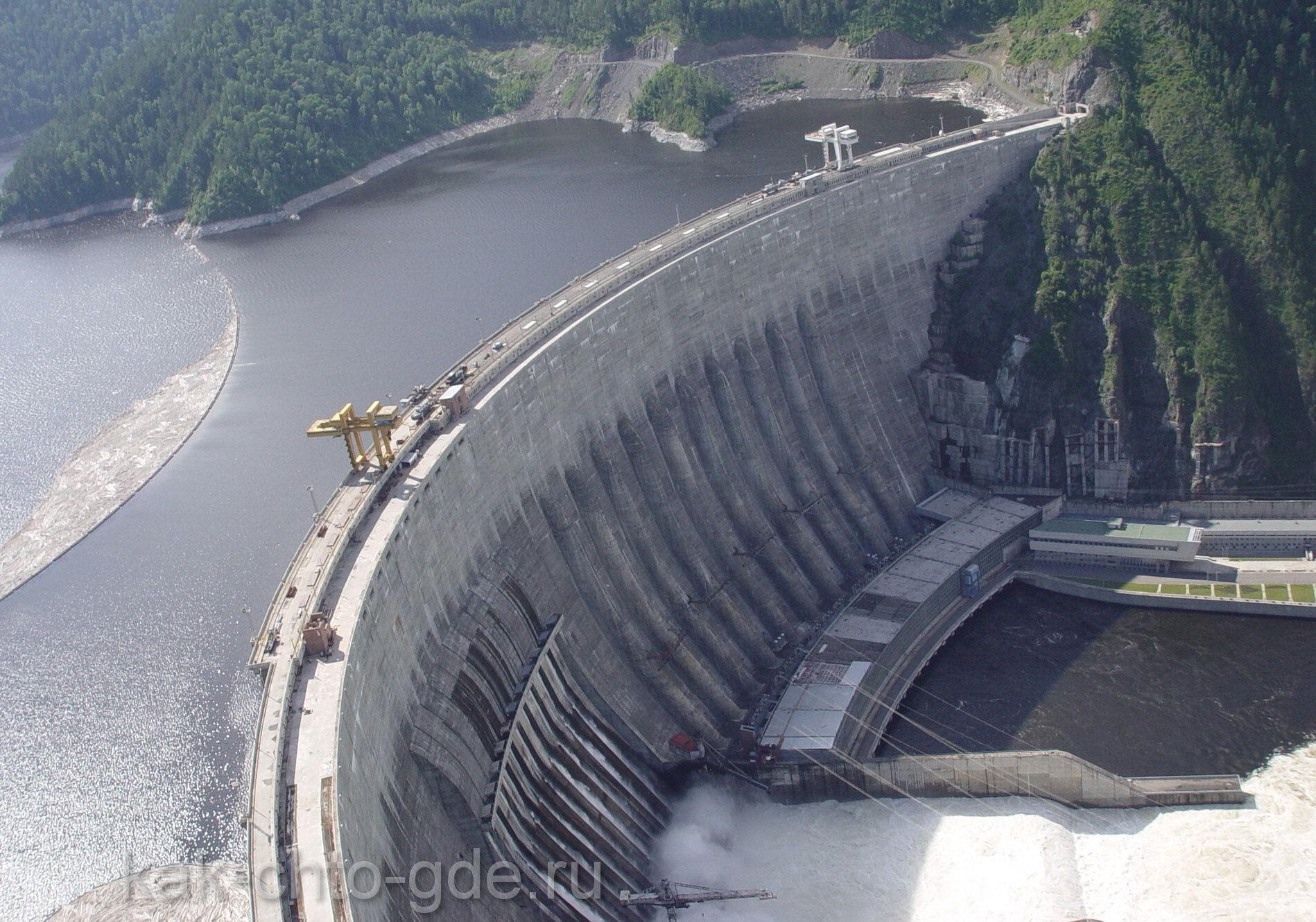 крупнейшие электростанции мира