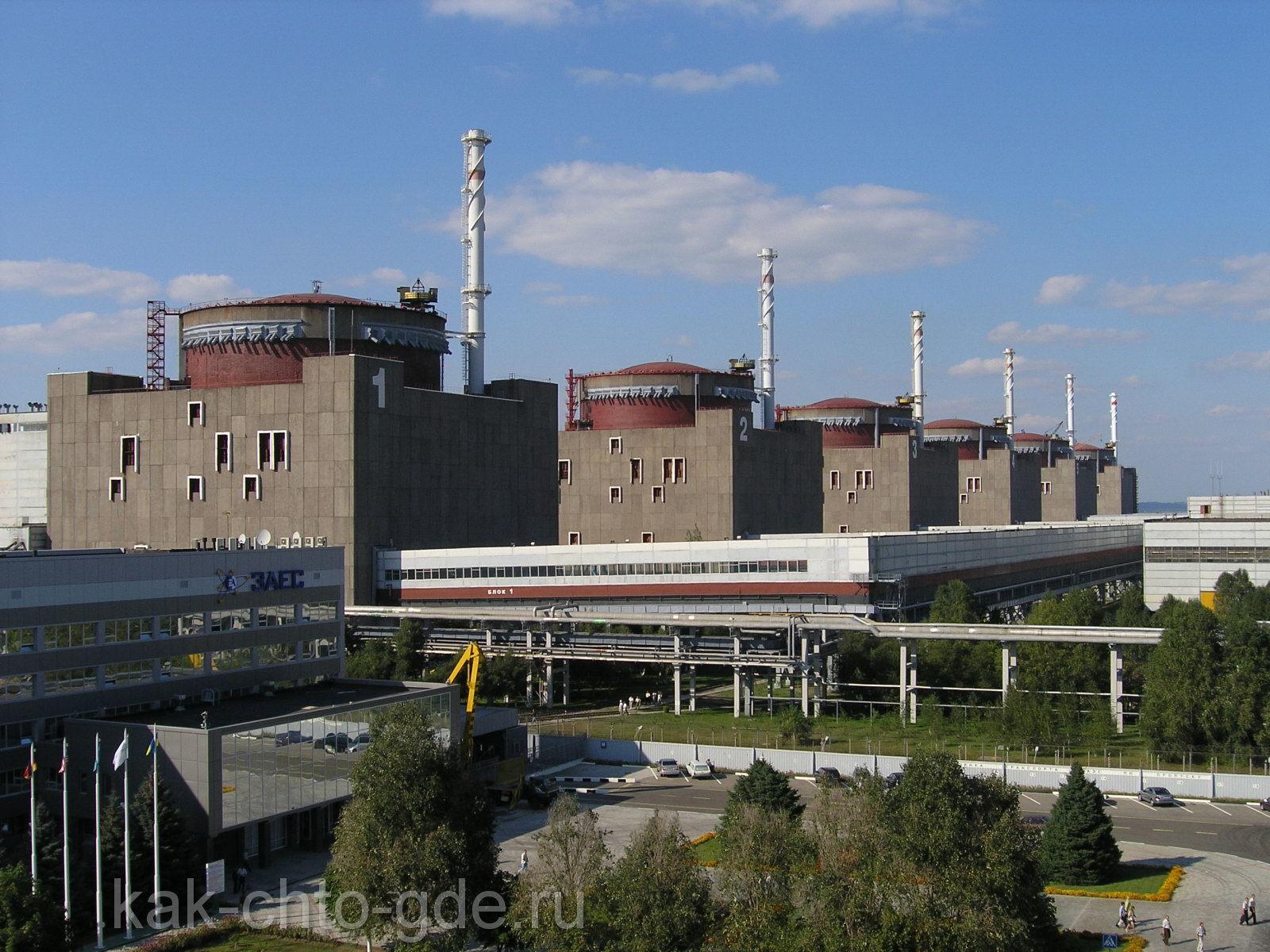 крупнейшая атомная электростанции мира из ныне действующих