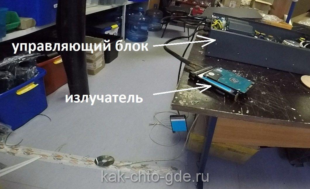 фото системы по удалению данных