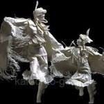 объёмные фигуры из бумаги своими руками