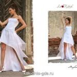 Короткие свадебные платья изящные и красивые