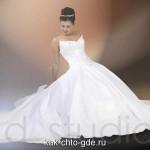 свадебные платья пышные фото