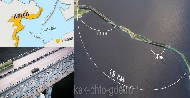 Керченский мост или тоннель Керченский пролив